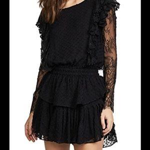 ISO NAT RUFFLE DRESS LOVESHACKFANCY SIZE M OR L